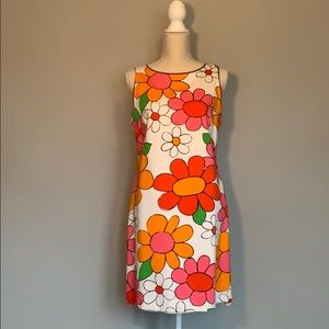 Vintage Flower Power summer dress